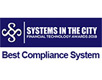 Systems In The City award winner for best compliance system
